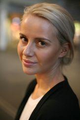 """Anniken Jørgensen, norsk blogger og tv-profil kjent bl a fra webtv-serien """"Sweatshop-dødelig mote"""""""