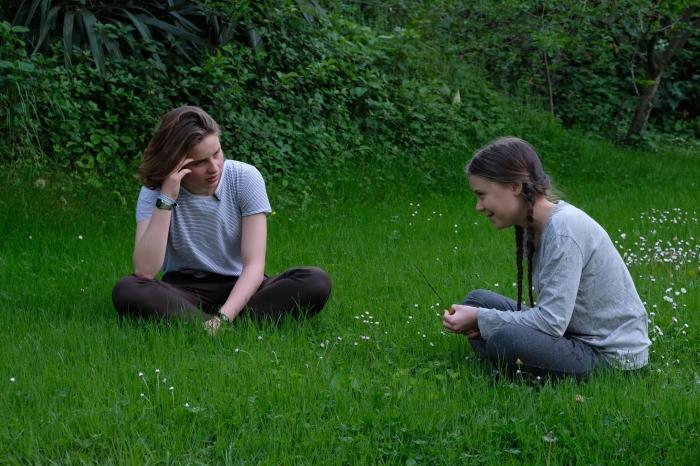 Anuna og Greta i Rom